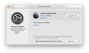 MacOS Catalina Beta 10 Released for Testing