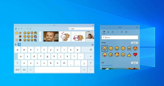 Windows 10 touch keyboard to get themes, new customization options