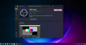 Windows 11 Store gets OBS Studio, Canva after Microsoft policy change