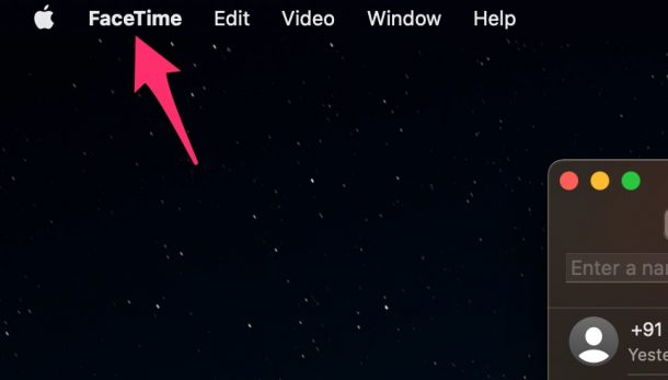 How to Change FaceTime Account on Mac