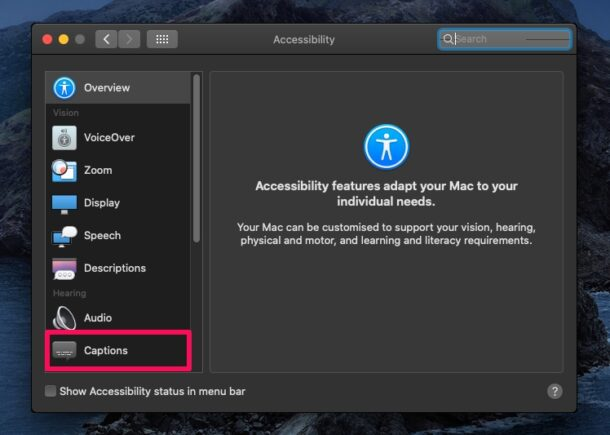 How to Change Subtitle Font Size on Mac