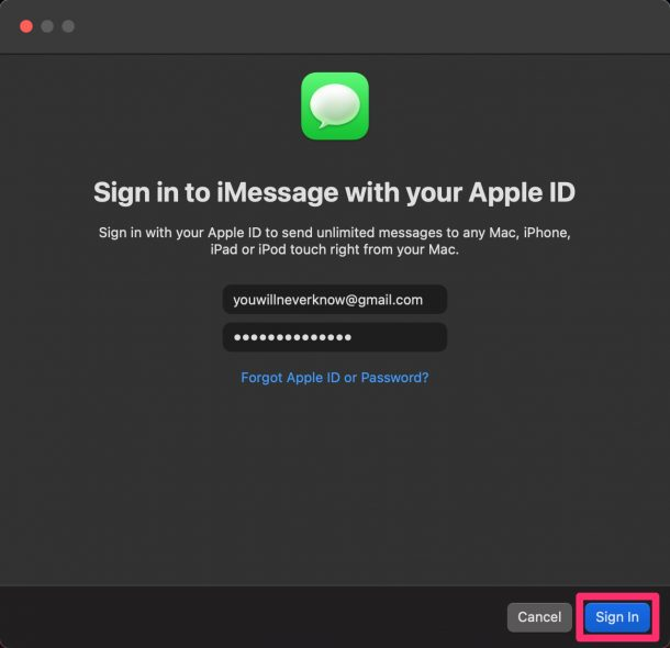 How to Change iMessage Account on Mac