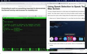 Summon an Overlay Web Browser by Keystroke with Bonsai for Mac