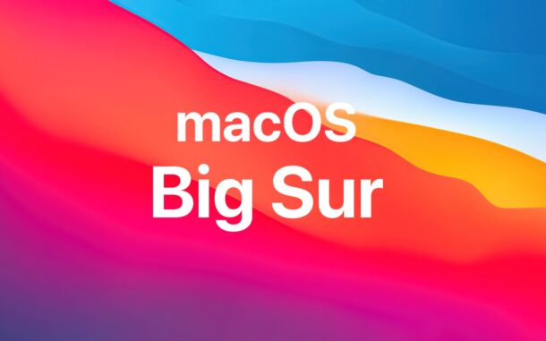 MacOS Big Sur 11.6 Released for Mac with Security Fixes