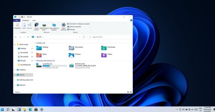 Windows 11 KB5006674 comes with compatibility fixes